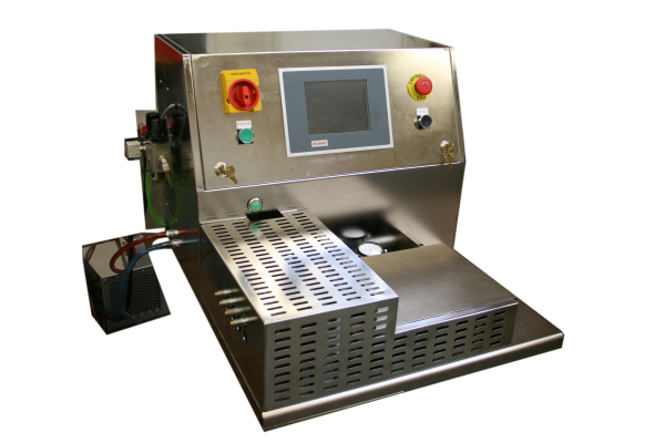 catheter tip forming, tip forming machine