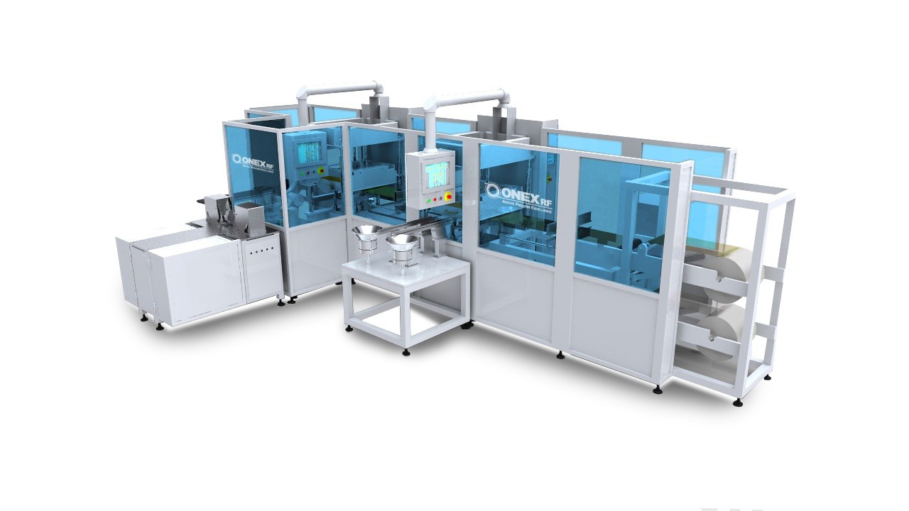 RF welding automation
