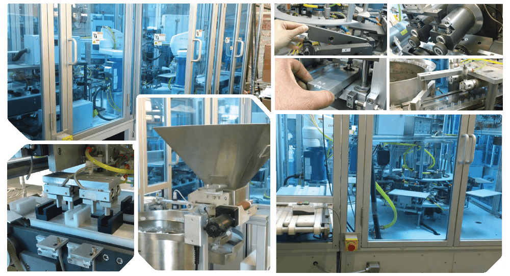 Automated Catheter Tip Forming Assembly Machine