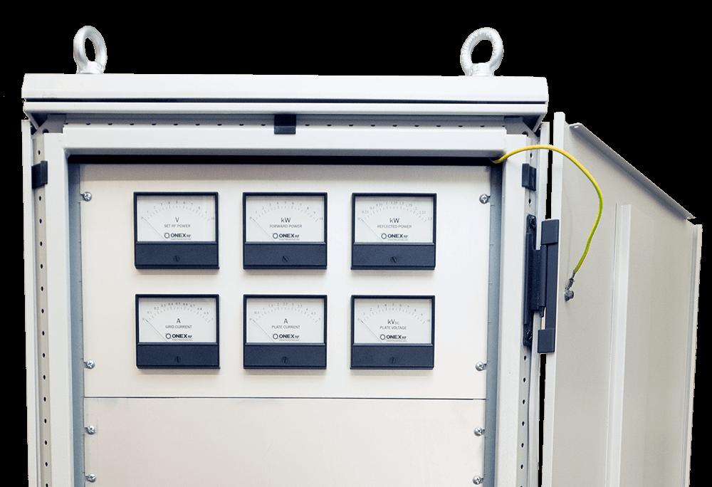 RF-Generator Meter Panel