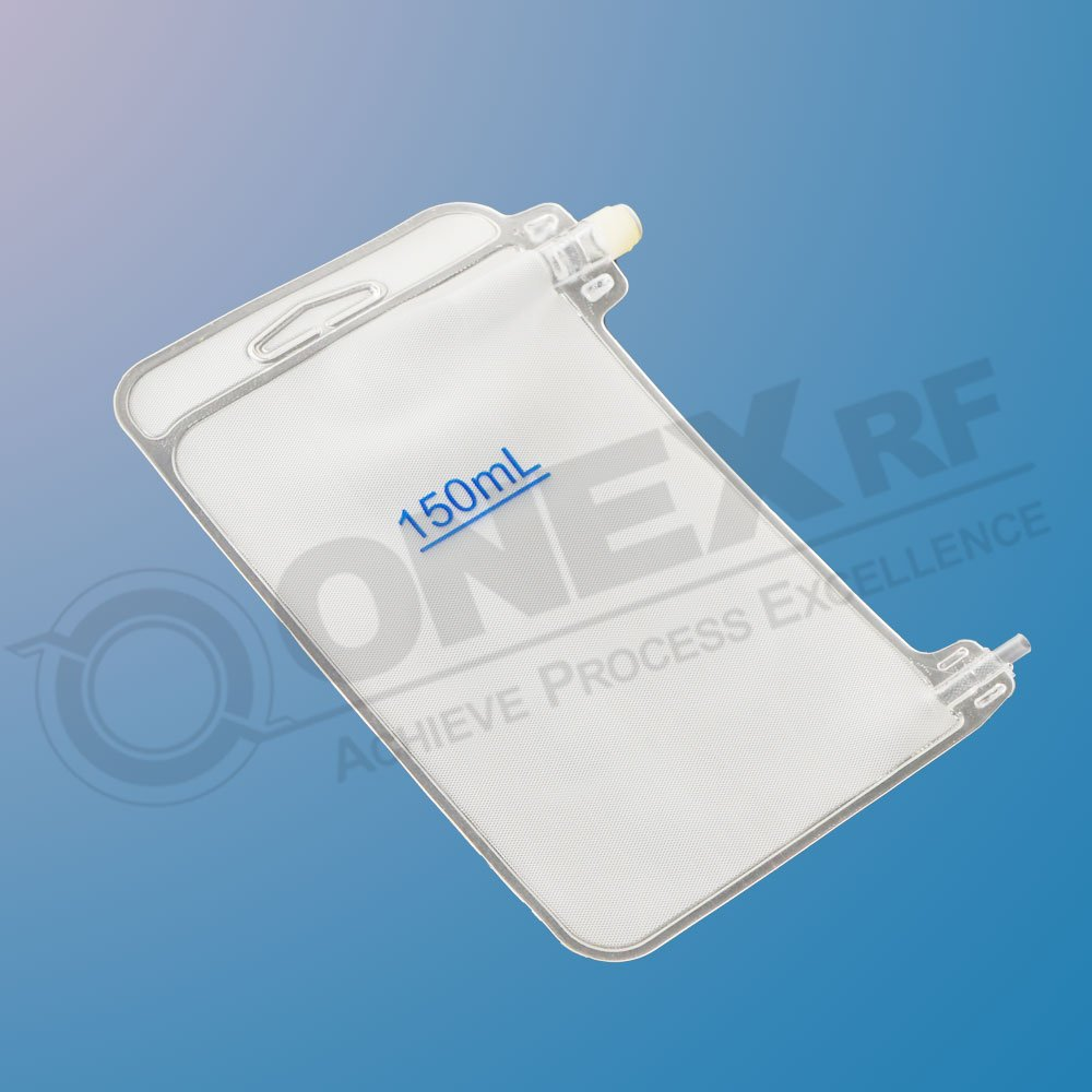 RF Sealed Blood Sample Pouch