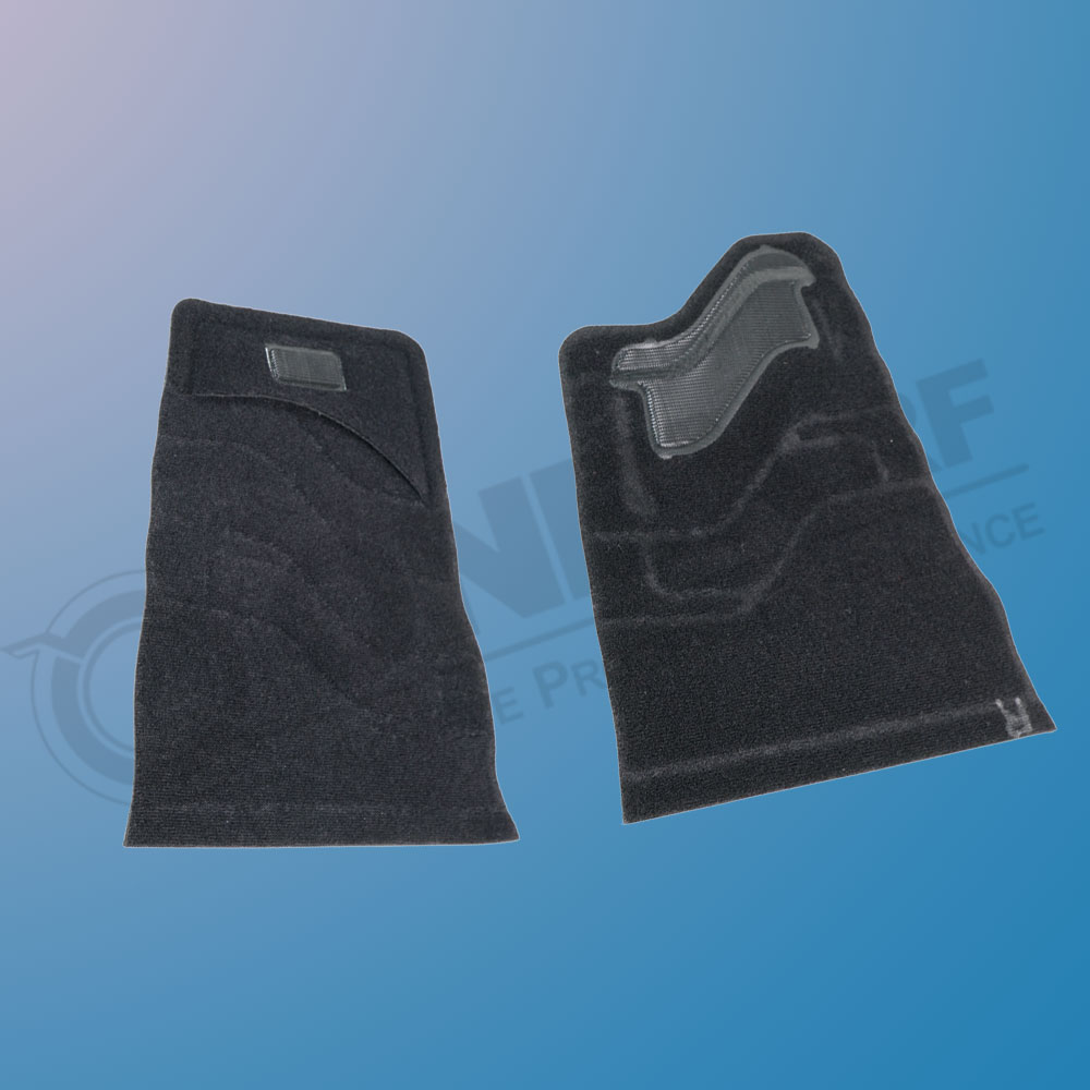 RF Sealed Lumbar Support Arms